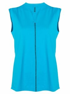 1017 ALYX 9SM front slit tank top - Blue