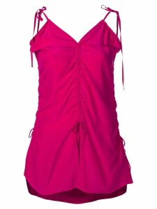 Marques'Almeida ruched cami-top - PINK