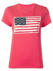 Polo Ralph Lauren flag patch T-shirt - Red