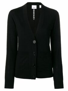 Burberry button-front cardigan - Black