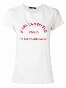 Karl Lagerfeld logo T-shirt - Grey