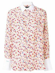 Polo Ralph Lauren Sakura print shirt - White