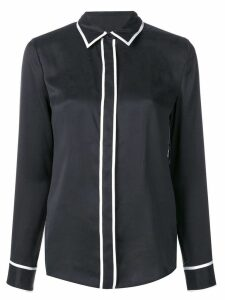 Equipment contrast piping shirt - Black