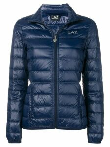 Ea7 Emporio Armani fitted puffer jacket - Blue