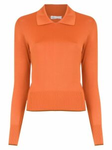 Nk long sleeved polo shirt - ORANGE