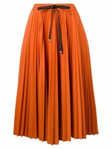 Fendi Gonna pleated skirt - Orange