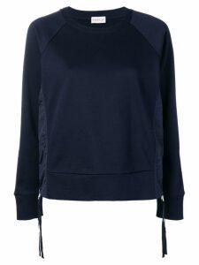Moncler side zip sweatshirt - Blue