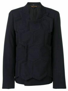 Comme Des Garçons Beehive layer jacket - Blue