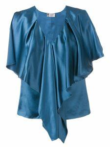 Lanvin ruffled blouse - Blue