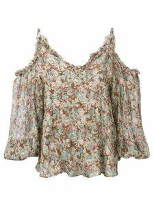 Stella McCartney meadow floral top - Green