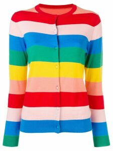 Chinti & Parker striped knitted cardigan - Red
