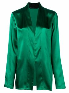 Haider Ackermann metallic blouse - Green