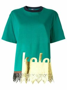 Kolor short sleeved T-shirt - Green