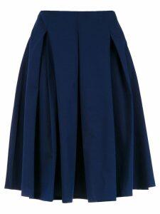 Reinaldo Lourenço full midi skirt - Blue
