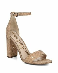 Sam Edelman Women's Yaro Ankle Strap Block Heel Sandals