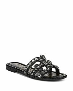 Sam Edelman Women's Bay 8 Embellished Slide Sandals