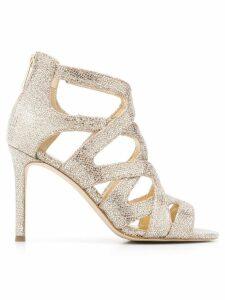Michael Michael Kors metallic silver sandals