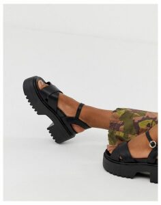 Truffle Collection sporty chunky heeled sandals