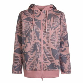 adidas by Stella McCartney Essentials Printed Hooded Sweatshirt