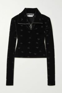 Philosophy di Lorenzo Serafini - Gauze-trimmed Cotton-blend Lace Shirt - Ivory