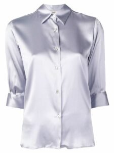 Blanca Vita slim-fit shirt - PURPLE