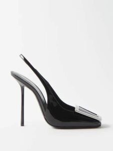 Vika Gazinskaya - Hand Knitted Oversized Cotton Blend Sweater - Womens - Green Multi