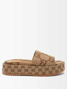 Helmut Lang - High Neck Ribbed Knit Wool Sweater - Womens - Brown