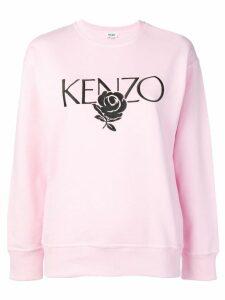 Kenzo pastel pink sweater