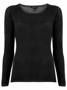 Avant Toi fine knit top - Black