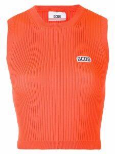 Gcds logo tank top - Orange