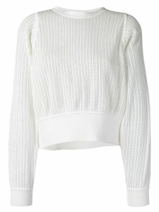Molli Jahanne cropped jumper - White
