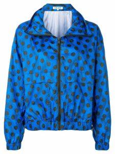 Kenzo Wavy dots windbreaker jacket - Blue