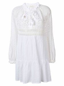 Anjuna Nicoletta lace embroidered dress - White