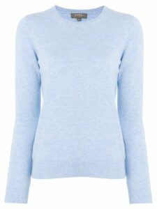 N.Peal crew neck cashmere sweater - Blue