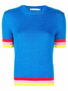 Mary Katrantzou Dua knitted top - Blue