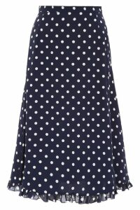 Alessandra Rich Polka Dots Skirt
