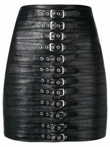 Manokhi belted mini skirt - Black