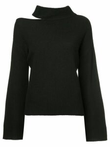 Manning Cartell cut-out detail jumper - Blue