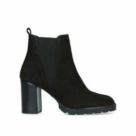 Womens Galorevia Ankle Boots Aldo Black Block Heeled Ankle Black Chelsea Boot, 5 UK