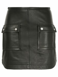 Manning Cartell biker mini skirt - Black