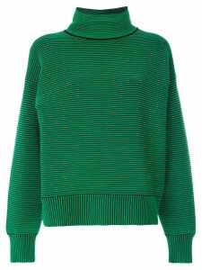Nagnata ribbed knit turtleneck jumper - Green