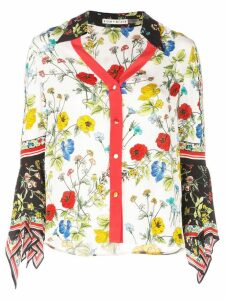 Alice+Olivia floral print blouse - Red