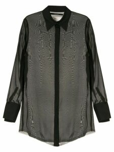Song For The Mute sheer blouse - Black