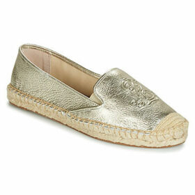Lauren Ralph Lauren  DESTINI  women's Espadrilles / Casual Shoes in Gold