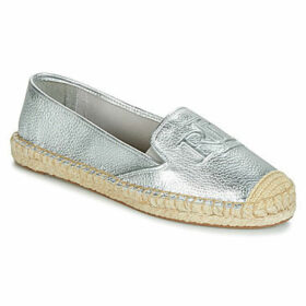 Lauren Ralph Lauren  DESTINI  women's Espadrilles / Casual Shoes in Silver