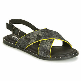 Kaporal  SYNTIA  women's Sandals in Black