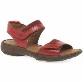 Josef Seibel  Debra 19 Womens Leather Sandals  women's Sandals in Red