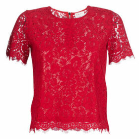 Moony Mood  KEMI  women's Blouse in Red