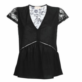 Moony Mood  KURITE  women's Blouse in Black
