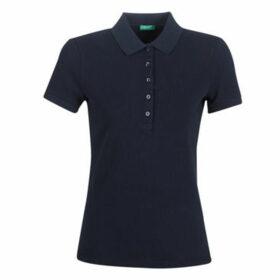 Benetton  MONNIKHA  women's Polo shirt in Blue